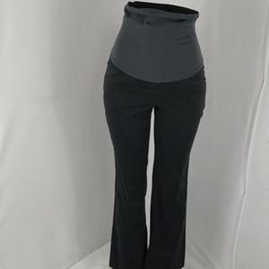 Motherhood Maternity Charcoal Gray Slacks